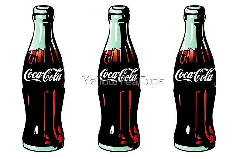 Quot Pop Art Coca Cola Bottle Quot Laptop Skins By Yellowteacups