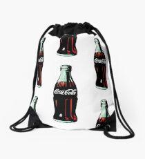 Pop Art Coca-Cola Bottle Drawstring Bag