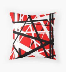 Frankenstein Pattern (Red) Throw Pillow