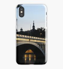 Lyon by night iPhone Case/Skin