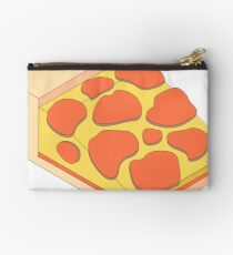Isometric Pepperoni Pizza Studio Pouch
