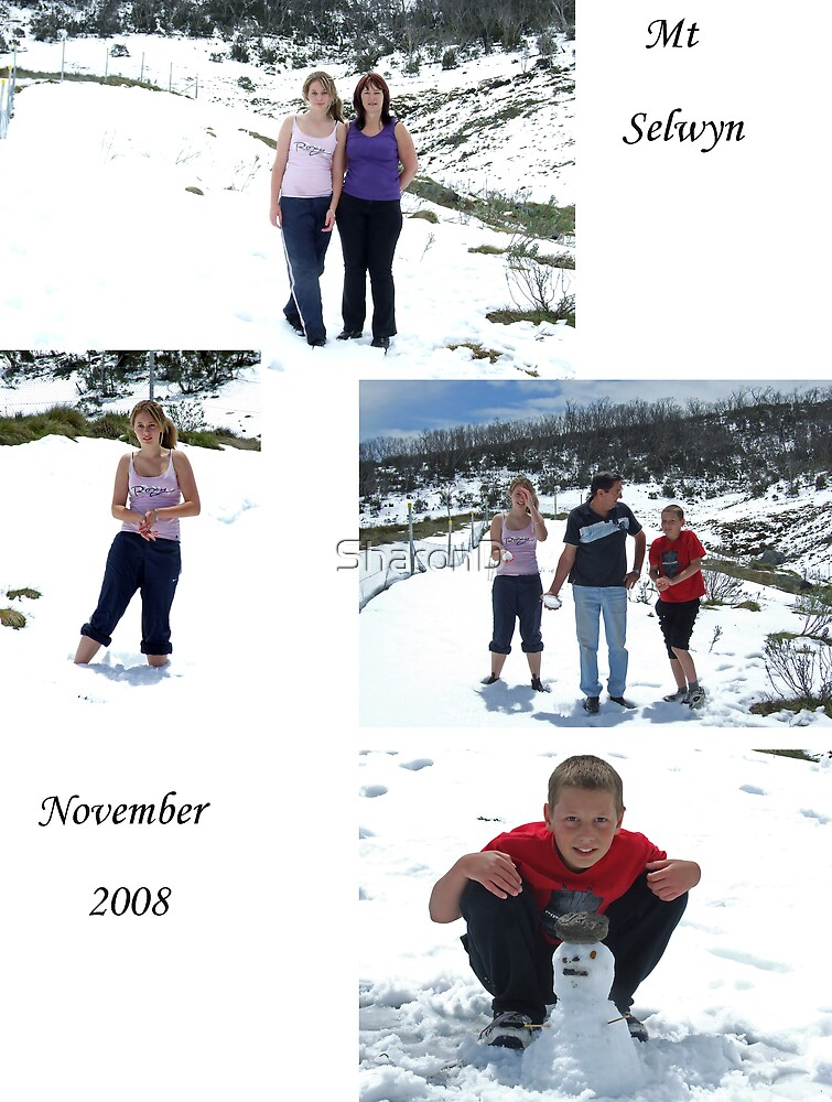 Our Day At The Snow by SharonD