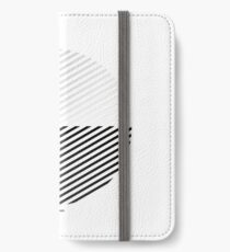 Stripes can be in a disc (BoW) iPhone Wallet/Case/Skin
