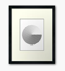 Stripes can be in a disc (BoW) Framed Print