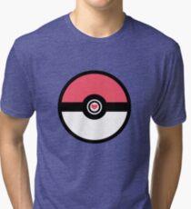 Romantic love pokeball Tri-blend T-Shirt