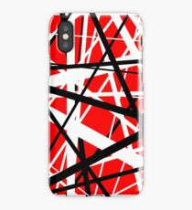 Frankenstein Pattern (Red) iPhone Case/Skin