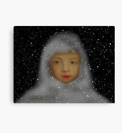 Dreaming of Snow Canvas Print
