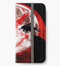 Loups de lune de sang et loup Étui portefeuille/coque/skin iPhone