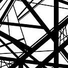 Frankenstein-Muster (Schwarz & Weiß) von Anthony Segrist