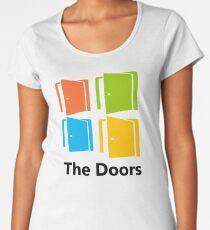 The Doors (Windows Logo) Women's Premium T-Shirt