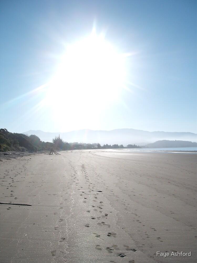 Sunset Beach by Faye Ashford
