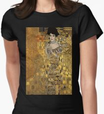Gustav Klimt, Adele Bloch-Bauer  Women's Fitted T-Shirt