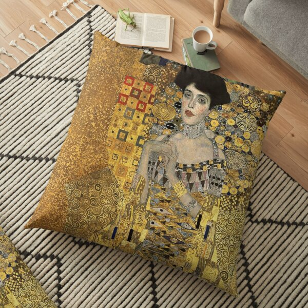 Gustav Klimt, Adele Bloch-Bauer  Floor Pillow