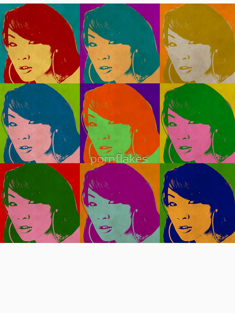 """Asa Akira"" T-shirt by pornflakes | Redbubble"