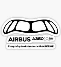 A350 Make-Up Sticker