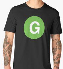 New York Raised Me / New York / G Train Men's Premium T-Shirt
