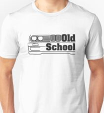Camiseta unisex E30 Old School - Negro
