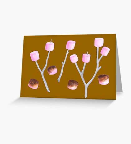 Toasted Marshmallows - Caramel Greeting Card