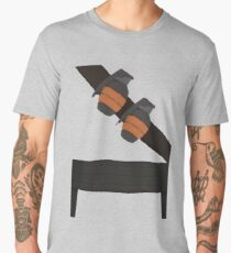Soldier stomach Men's Premium T-Shirt