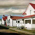 Pioneer Village, Hanna Alberta by Amanda White