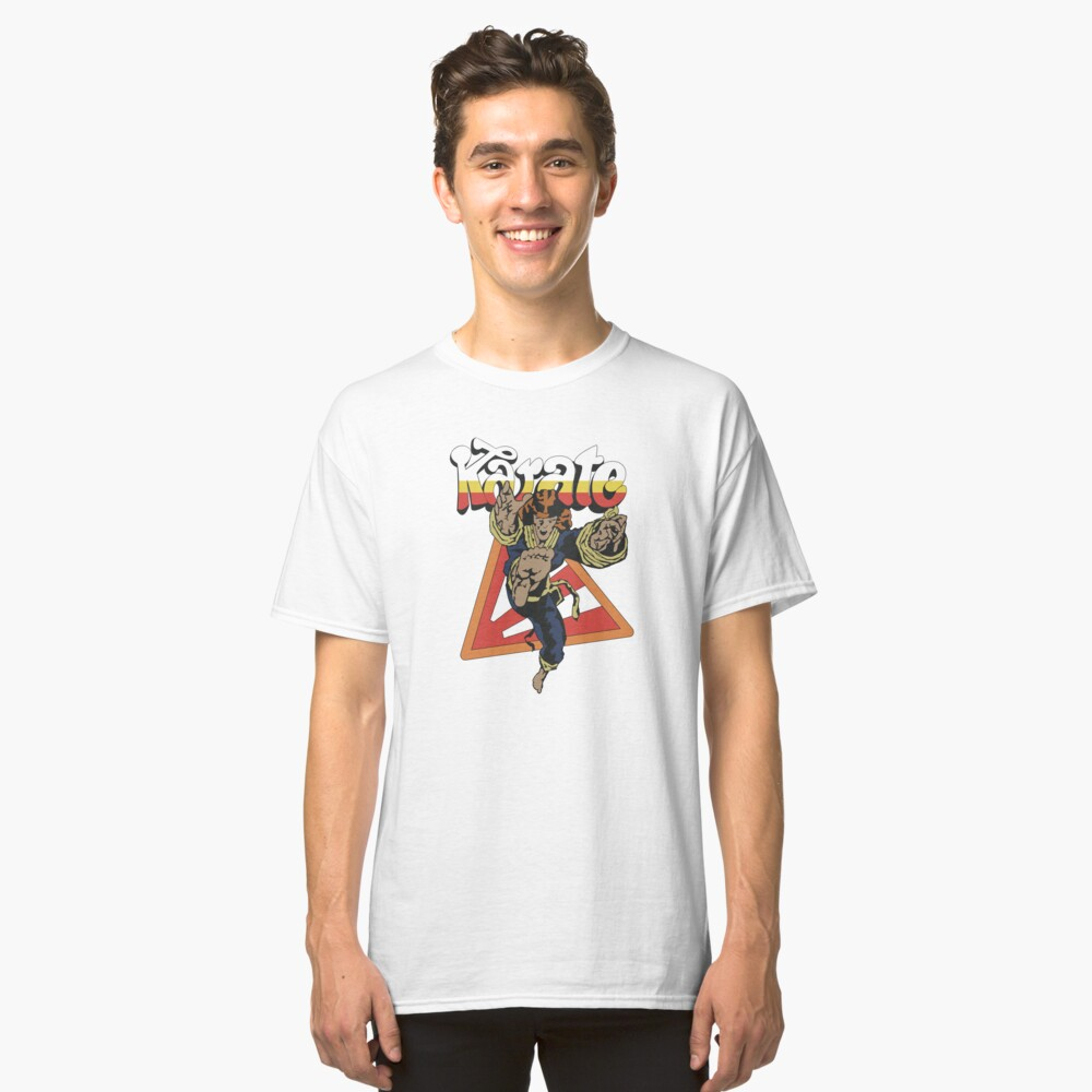Stranger Things Karate Classic T-Shirt Front