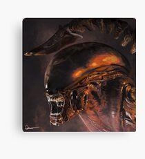 Alien xenomorph Canvas Print