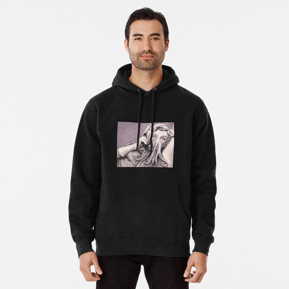 Phone Call of Cthulyn Pullover Hoodie