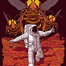 Killer Bees On Mars. by J.C. Maziu