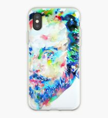 WILLIAM SHAKESPEARE - watercolor portrait iPhone Case