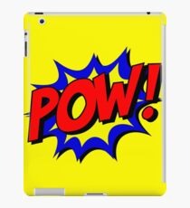 Superhero POW! iPad Case/Skin
