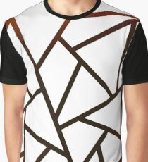 Fire in the black - gold pattern Graphic T-Shirt