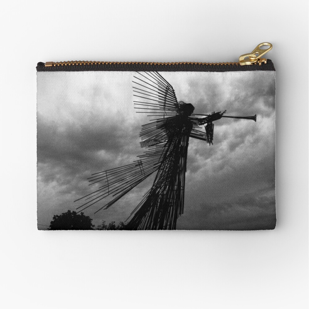 Angel Of Death 2017 angel of death in chernobyl | zipper pouch