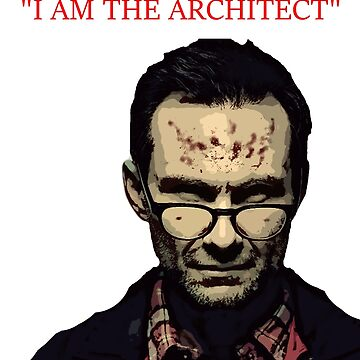 Mr Robot - I am the architect by PopClothing