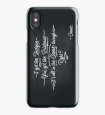 It's All In The Game Though iPhone Case/Skin