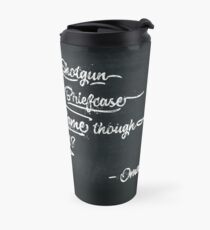 It's All In The Game Though Travel Mug