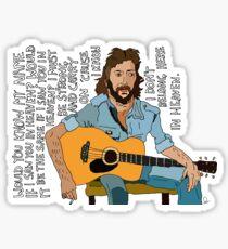 Eric Clapton  Sticker