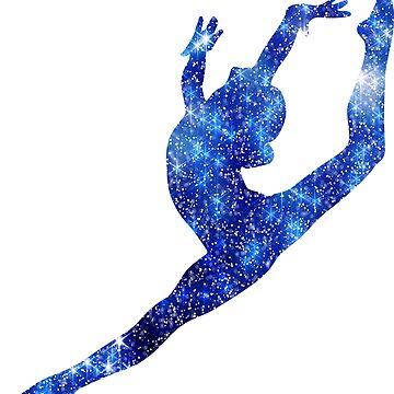 Leap - Blue by sportart