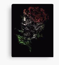 pixel skull Canvas Print