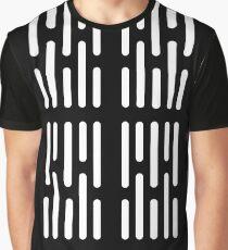 Death Star Corridor Lighting Graphic T-Shirt
