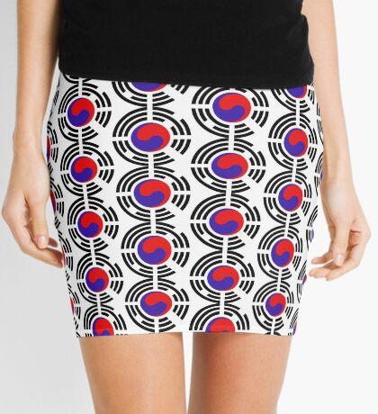 Korean Patriot Flag Series Mini Skirt