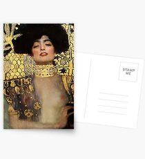 Gustav Klimt, Judith  Postcards