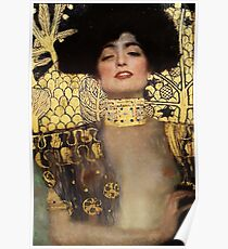 Gustav Klimt, Judith  Poster
