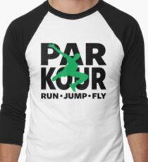 PARKOUR - FREERUNNING - TRACEUR Men's Baseball ¾ T-Shirt