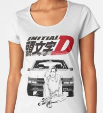 Initial D Women's Premium T-Shirt