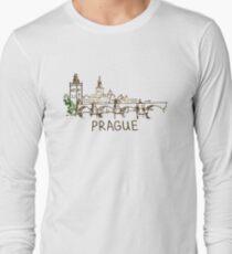 Prague Czech Republic Long Sleeve T-Shirt