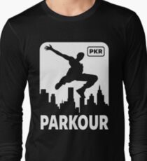 PARKOUR - FREERUNNING - TRACEUR Long Sleeve T-Shirt