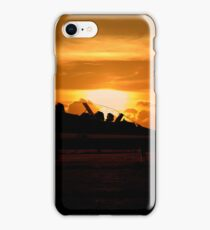 Scampton Sunset  iPhone Case/Skin