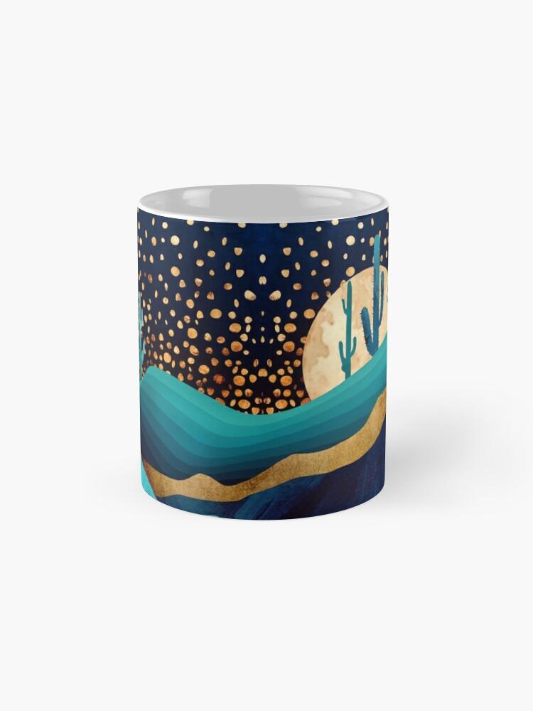 Alternate view of Indigo Desert Night Mug
