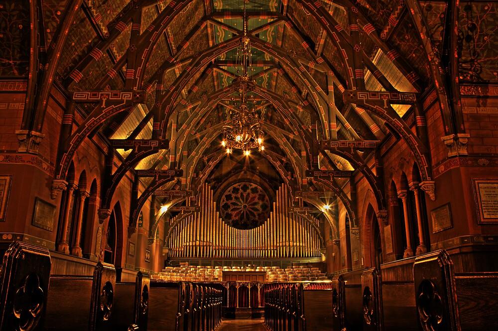 Sage Chapel, Cornell University by Sam McGuire
