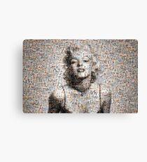 Marilyn Mosaic Art Canvas Print
